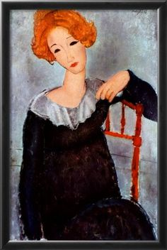 Amedeo Modigliani - Woman with Red Hair 1917