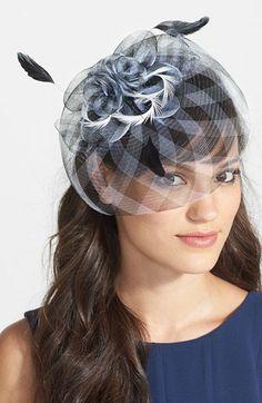Tasha 'Gingham and Glam' Fascinator Headband available at #Nordstrom