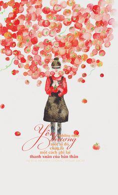 Những ngày yêu thương một ai đó cũng là một cách ghi lại thanh xuân của bản thân. ..   Nguồn: Ai vì ai mà điên cuồng | Yingie dịch  Design: #Nana