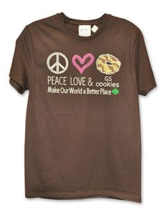 girl scout t shirt on pinterest girl scouts girl scout