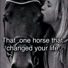 Horses they change you forever