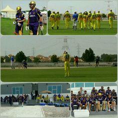#PracticeMatch #KKR vs #CSK @ChennaiIPL... @gautam gambhir & @jacqueskallis75 now batting! All the best guys #KLJ