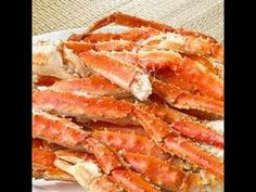 Festín de Cangrejo Rey de Alaska/Alaskan King Crab Feast - YouTube