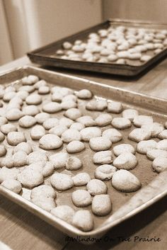 Peppernuts Recipe « Window On The Prairie Cooks Country Recipes, Country Cooking, Nutella Cookies, Candy Cookies, Peppernuts Recipe, Different Recipes, Meals For One, Christmas Treats, So Little Time