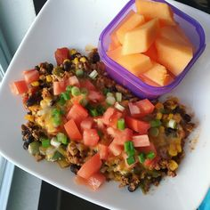 Tasty taco dinner that is both 80 Day Obsession and 21 day fix approved!