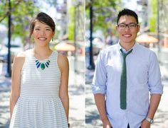 little Italy Farmers market engagement Session