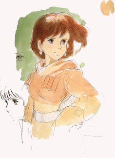 Nausicaa from Valley of the Wind. Studio Ghibli
