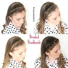 4 fabulous braid headband hairstyles to diy.