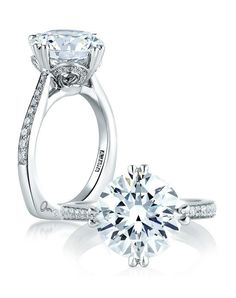 A. Jaffe Engagement Ring in White Gold with Round Stone I Style: MES421 I https://www.theknot.com/fashion/exclusive-round-statement-engagement-ring-mes421-ajaffe-engagement-ring?utm_source=pinterest.com&utm_medium=social&utm_content=june2016&utm_campaign=beauty-fashion&utm_simplereach=?sr_share=pinterest