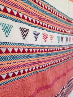 Very Rare Hand Embroidered #Dongria #Shawl #Tribal by TheFarEastArtStudio