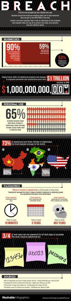 65% dos usuários de internet já foram vítimas de crimes virtuais – no Brasil, 76