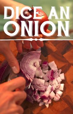 How to dice an #onion. #Cooking101 #food