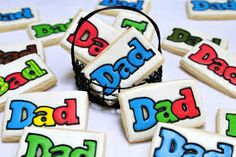 father's day cookies - Buscar con Google