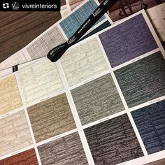 New Versa Wallcovering  #Repost @vivreinteriors  @eykondesign has a beautiful new color palette in their Versa collection. Introducing Pietra! Wonderfully proportioned texture with rich and substantial color ways. #color #texture #boldlook #commercialinteriors #vivreinteriors