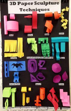 Paper sculpture techniques                                                                                                                                                                                 More                                                                                                                                                                                 More