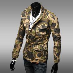 Leonardo Men's Brown Printed Jacket @ Looksgud.in #Brown, #JacketCot, #FullSleeve, #Printed