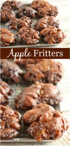 these delicious homemade Apple Fritters with a glaze using simple ingredients. Perfect for fall dessert.Make these delicious homemade Apple Fritters with a glaze using simple ingredients. Perfect for fall dessert. Easy Apple Fritters Recipe, Apple Fritter Recipes, Apple Recipes Easy, Baking Recipes, Simple Apple Pie Recipe, Baked Apple Fritters, Crisp Recipe, Apple Jacks, Fall Dessert Recipes