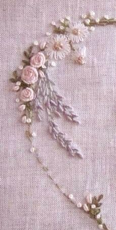 Brazilian Embroidered Roses &a