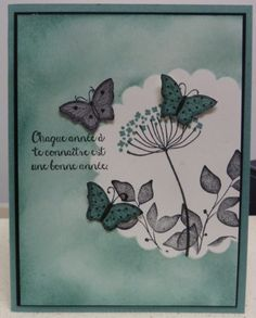 Bloom with hope, Summer Silhouettes and Papillons potpourri stamp by Stampin'Up