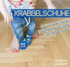 weiche Krabbelschuhe von HOBEA-Germany: Gesund Laufen lernen, rutsch-hemmende Sohle, wie barfuß laufen! https://www.hobea.de/bestickte-krabbelschuhe-in-verschiedenen-designs-von-hobea-germany/a-3980/