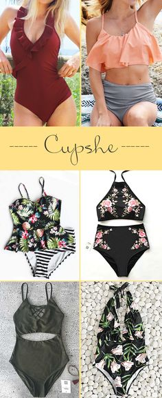 Hot Sale Now! Cupshe has saved best swimsuit for your summer trips. Take the chance now!