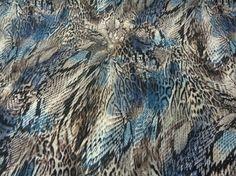 Κοτλέ 'Exotic snake' blu