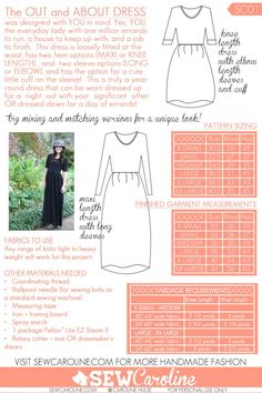 Out and About Dress -  SUCH a great pattern!