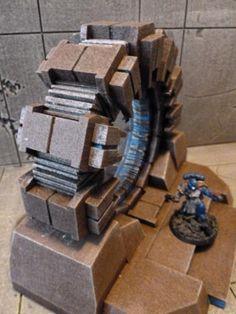 Alien Warpgate/Stargate » Blue Forge Terrain