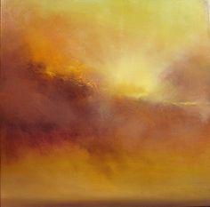 """""""Hammonasset Sunburst""""  24""""x24""""  oil on canvas"""