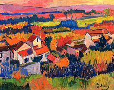 Landscape near Chatou (Andre Derain - 1904-1905)