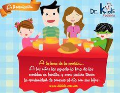 Comer en familia es una costumbre agradable tanto para los padres como para los hijos. A los niños les agrada la hora de las comidas en familia, y como padres tienen la oportunidad de ponerse al día con sus hijos.