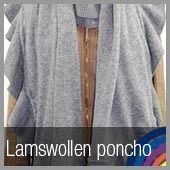 Passigatti lamswollen poncho's in diverse kleuren!