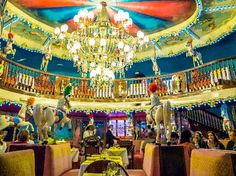 """10 extraordinarily designed hotels :::   10. Hotel Negresco, Nice, France ::: """"For me, this was the ultimate stimulation in colour, class, art and decoration."""""""