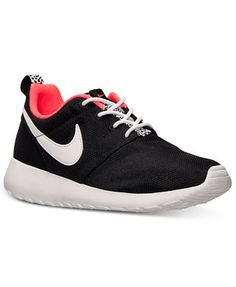Nike Girls Roshe Run Casual Sneakers from Finish Line