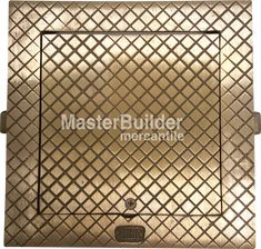 Zurn Square Hinged Floor Access Panel, Cast Iron, Bronze or Nick – MasterBuilder Mercantile Inc. Technical Documentation, Access Panel, Hazardous Materials, Polished Nickel, Plumbing, Cast Iron, Anchor, Floors, Industrial