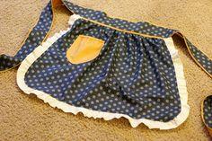 DIY cute apron