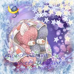 good night friends sweet dreams | sweet dreams tags good night sweet dreams stina scott teddy bears
