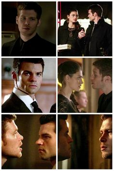 "The Originals – TV Série - Niklaus ""Klaus"" Mikaelson - Joseph Morgan - Elijah Mikaelson - Daniel Gillies - Hayley Marshall - Phoebe Tonkin - rei e rainha - King and queen - lobo - Wolf - brothers - irmãos - grávida - embarazada - pregnant - 1x18 - The Big Uneasy - O Grande Inquieto"