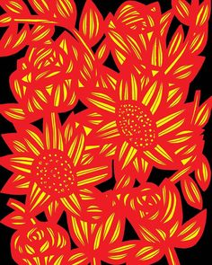 #flower #flowers #flores #floral #cute #pretty #love #instagood #instamood #art #arts #artist #artists #artwork #artworks #illustration #illustrations #instaart #instaartist #drawing #drawings #dibujos #dibujo #kunst #konst #arte #artes #artista #red #yellow