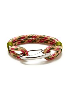 Multicolor Cotton Bracelet By R Graziano At Gilt