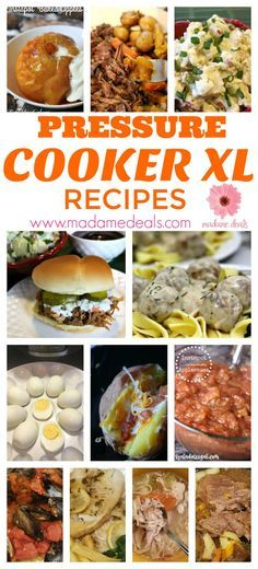 Do you have a pressure cooker xl? Then make sure to check out my easy and tried and tested Power Pressure Cooker XL recipes
