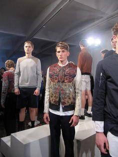 Tim Coppens -- s/s 2012 rug jacket _ via the FashionList