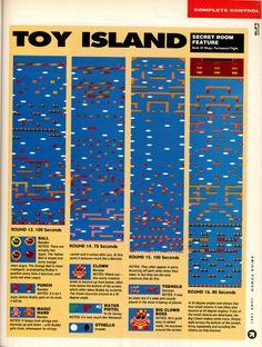 Amiga Power Rainbow Islands guide Page 7