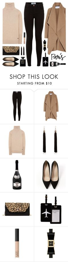 """""""I Love Paris in the Fall"""" by lgb321 ❤ liked on Polyvore featuring New Look, Harris Wharf London, Loro Piana, J.Crew, SUSU, TravelSmith, NARS Cosmetics and Kate Spade"""