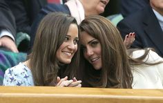 #2 of 2 Pippa Middleton and her sister, Kate, The Duchess of Cambridge, today.   http://www.essentialkids.com.au/photogallery/younger-kids/kids-nutrition-and-fitness/celebrity-childhood-scrapbook-20120509-1ycfm.html