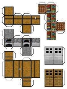 Minecraft Için 20 Fikir Minecraft Elişleri Minecraft Minecraft şablonları