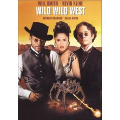 Wild Wild West is a 1999 American steampunk western action-comedy film directed by Barry Sonnenfeld. A film adaptation of the TV series The Wild Wild West, the film stars Will Smith, Kevin Kline, Kenneth Branagh and Salma Hayek. Steampunk Movies, Will Smith Movies, Will Smith, Free Movies Online, Movies, Movie Tv, Western Movies, Movies And Tv Shows, Love Movie