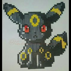 A cute Umbreon by @tabaspixelworld from Instagram! Go and follow for more!!