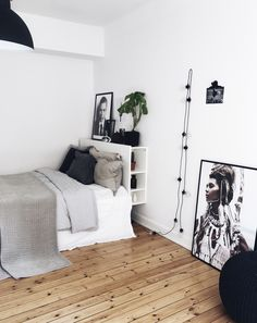 beautiful bedroom | interior inspiration | minimalism | black and white | interior goals | lovely home | Fitz & Huxley | www.fitzandhuxley.com