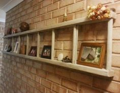 DIY Ladder / DIY Build Ladder Shelves This is such a cute idea